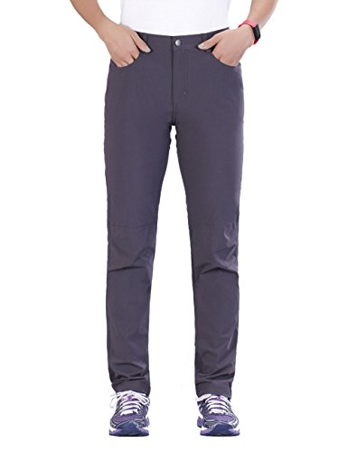 UNITOP Women's Quick Dry Slim Fit Water Resistant Cargo Pants