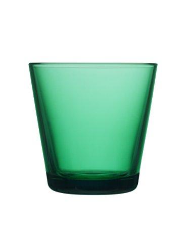 Kartio Emerald Glass Tumblers, Set of 2 By Iittala (7 (Kartio Glassware Set)