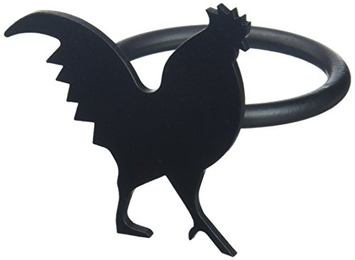 2 Inch Rooster Napkin Ring