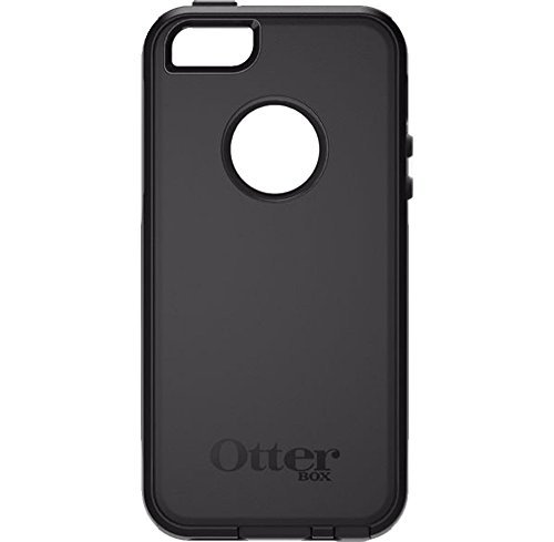 Iphone Executive Case - OtterBox Commuter Case for Apple iPhone SE/5s/5 - Black