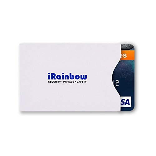 e3c328be4b3a 70%OFF iRainbow RFID Blocking Sleeves (5 Credit Card Holders & 1 ...