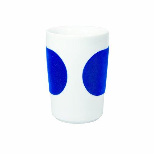 (KAHLA Touch Five Senses Large Cup 11-3/4 oz, Dark Blue Sleeve Color, 1 Piece)