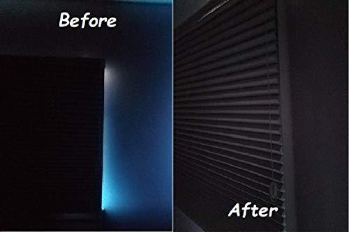 Block Light Shade (Sleepy Time Tracks a Room Darkening Solution That Blocks Light Along The Sides of Blackout Shades. 60