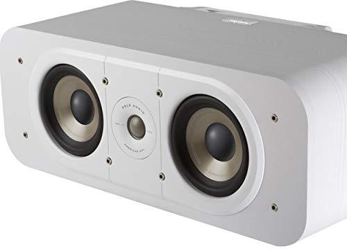 Polk Signature S30e Luidspreker, Center Speaker voor HiFi Home Cinema, Liggende Speaker met 125 Watt, Universele…