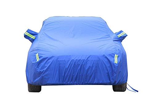 W-W-R Car Covers for Automobiles All Weather outdoorMazda car Hood, car dust Cover, Mazda Special car Hood, Sunscreen Clothes, Black car Hood,Blue,CX5