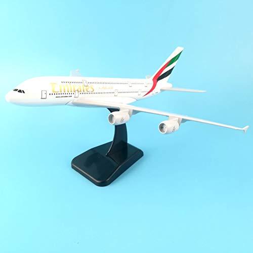 Marreto 20Cm Alloy Metal Air A380 Model United Arab Emirates Airbus, Boeing 777 380 Airways Plane Model Aircraft Gifts