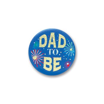 Dad To Be Satin Button 2