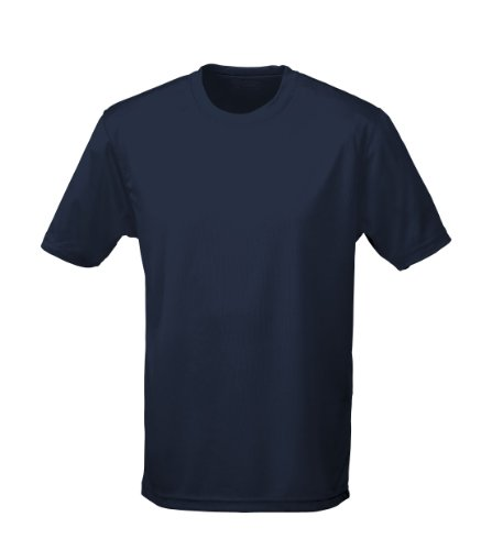 Just Cool - Performance T-Shirt, atmungsaktiv XXL,Navyblau