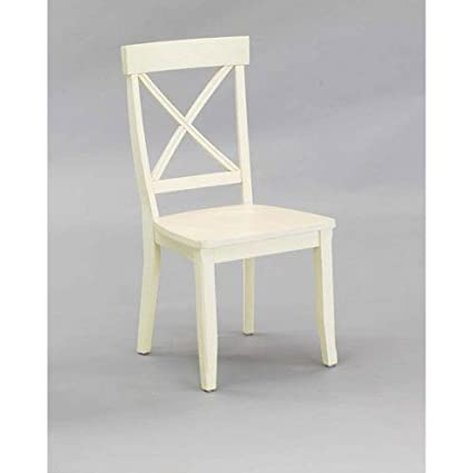 Home Styles 5177-802 Dining Chair, Antique White Finish, Set of 2 - Amazon.com: Home Styles 5177-802 Dining Chair, Antique White Finish