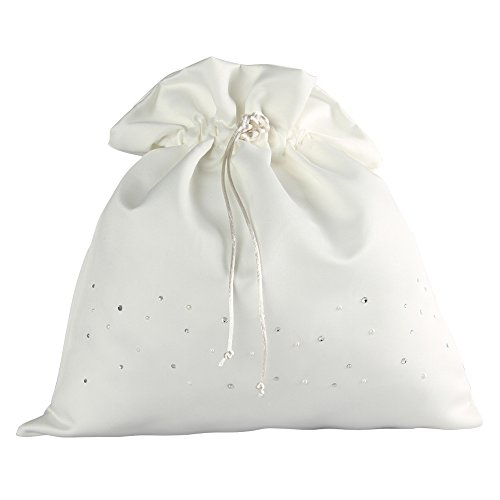 Ivy Lane Design Celebrity Collection Money Bag, Ivory