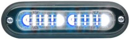 Blue//White Whelen TLI2E ION T-Series DUO Linear Surface Mount Light