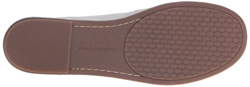 Hush Puppies Womens Adena Piper Slip-on Mocassino In Pelle Color Bianco Sporco