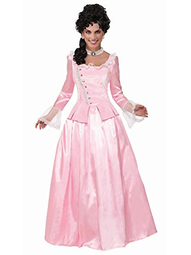 Forum Novelties Colonial Maiden Corset-Style Dress, Pink, STD (Girls Dresses Colonial Pink For)
