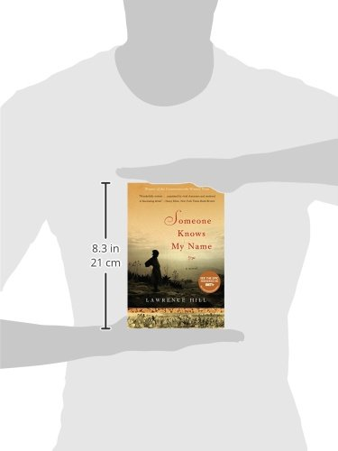 someone knows my name [someone knows my name] is a masterpiece, daring and impressive in its geographic, historical and human reach, convincing in its narrative art and detail, necessary for imagining the real beyond the traces left by history.