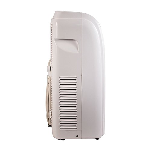DRMOIS Portable Air Conditioner Unit, Window Vent Kit, 4 Caster Wheels, White