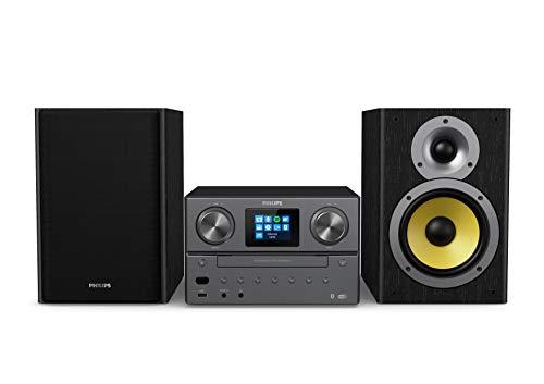 Philips M8905/10 Stereo-installatie met Bluetooth en Internetradio DAB+/FM, Microsysteem (USB, Spotify Connect, CD, MP3…