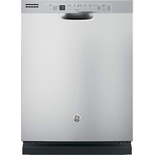 GE GDF610PSJSS 24″ Energy Star Built In Dishwasher with 16 Place Settings in Stainless Steel (Certified Refurbished)