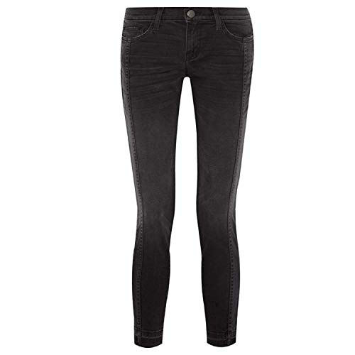 Current/Elliott Womens The Seamed Easy Stiletto Jeans Washed Black 26