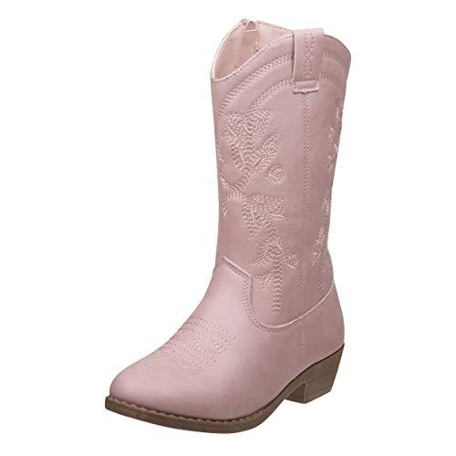 Kensie Girl Girls Western Cowboy Boot (Toddler, Little Kid, Big Kid) (11 M US Little Kid, Pink)' (Western Girl Toddler Boots)