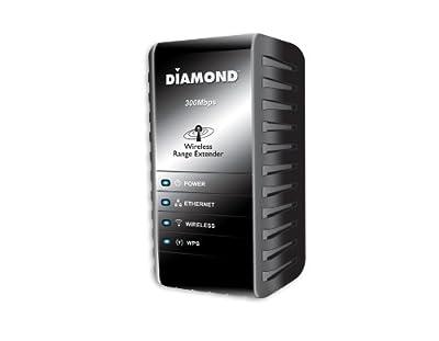 Diamond Multimedia 300mbps 80211n Wireless Range Extender Wr300n from Diamond