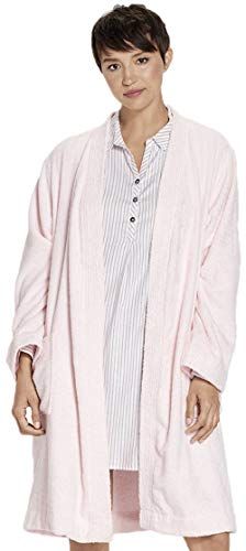 UGG Womens Lorie Terry Robe, Seashell Pink, Size Medium/Large -