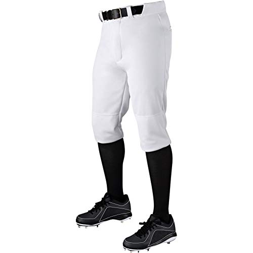 Wilson Demarini Mens Veteran Knicker Baseball Pant White L