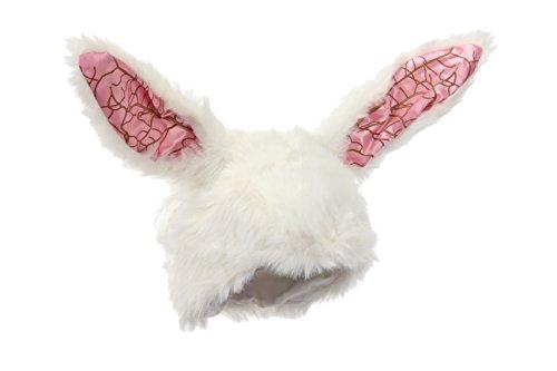 Alice In Wonderland White Rabbit Halloween Costume (Disney Alice in Wonderland White Rabbit Hat by elope)