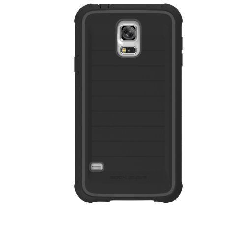 Body Glove Samsung Galaxy S5 G900 ShockSuit - Retail Packaging - Black/Charcoal (Glove Galaxy Body Samsung Case S2)