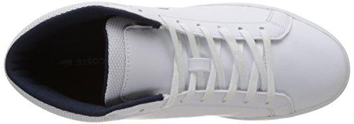 Bianco Straightset Lacoste Bassi white Uomo Chukka Cam 1171 Sp ZZrq0w