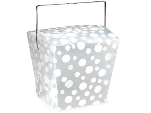 ite Dots Take Out Pails 4 x 3-1/2 x 4