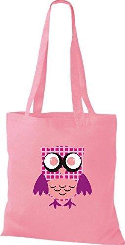 Tela Algodón Para Rosa Mujer De Shirtinstyle Bolso AEwSq7AO