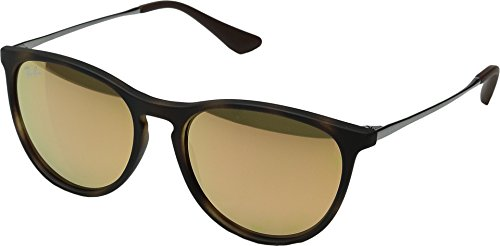 Ray-Ban Junior Women's 0RJ9060S Round Sunglasses, Havana Rubber, 50 - Ray Ban Amazon Erika
