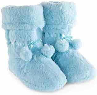 a0569b434f3 PajamaGram Fleece Slippers for Women - Slipper Boots for Women