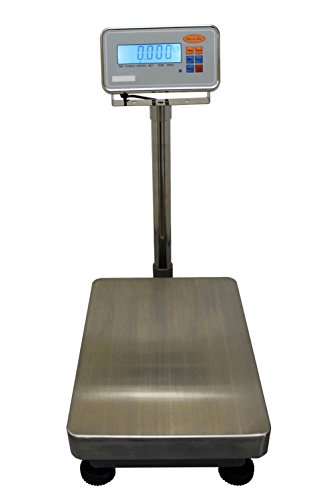 IBS 60 Bench Platform Checkweighing Scale 60kg x 2g Capacity 300 x 400mm Plate IP68 Stainless Steel Indicator