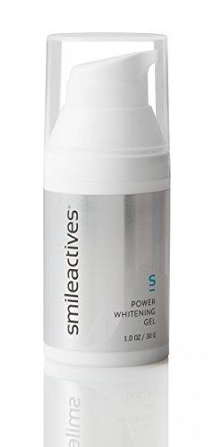 Smileactives - Power Whitening Gel - Teeth Whitening and Brightening with Polyclean Technology - Travel Size 30 Day Supply/1 Ounce