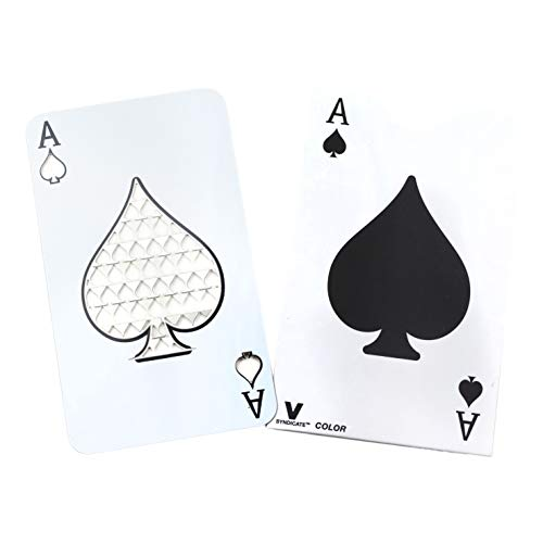 V. Syndicate Ace of Spades Playing Card Grinder Cards ()