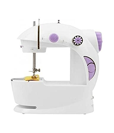 Isabella mini multi functional electric plastic sewing machine isabella mini multi functional electric plastic sewing machine with accessories white fandeluxe Gallery