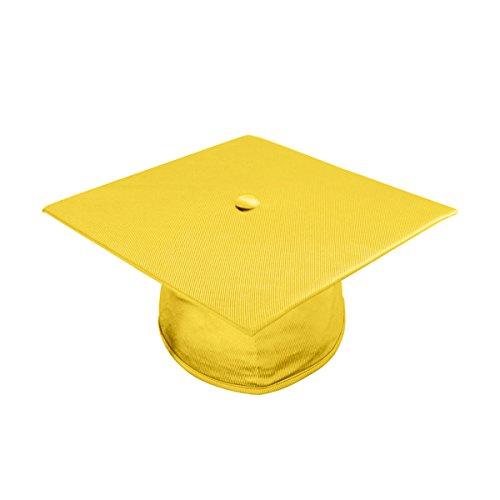 "Apparel Group Big Boys' Gold Kindergarten Cap (9.4"" x 9.4"")"