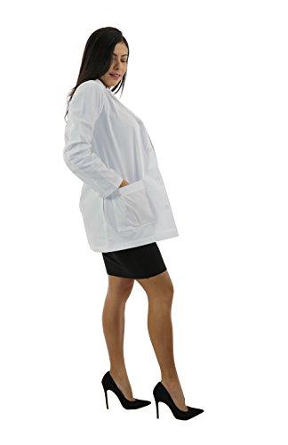 Spectrum Consultation Ladies Lab Coat Antimicrobial - 34