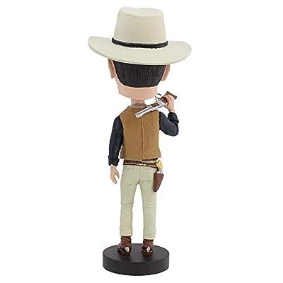 Royal Bobbles John Wayne Cowboy Bobblehead: Toys & Games