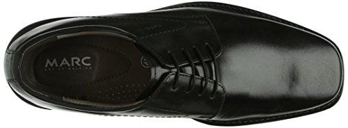 Marc Shoes San Diego Herren Derby Schnürhalbschuhe Schwarz (black 100)