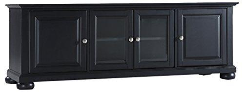 Crosley Furniture KF10005ABK Alexandria 60-inch Low-Profile TV Stand, Black
