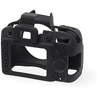 EasyCover Silicone Protective Camera Cover/Case for Nikon D3400 Black