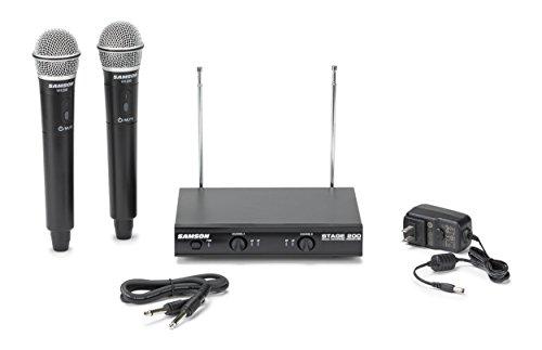 Samson Stage 200S Dual Channel Handheld VHF Wireless System