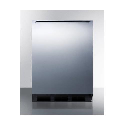 Summit CT663BBISSHHADA Refrigerator, Stainless Steel