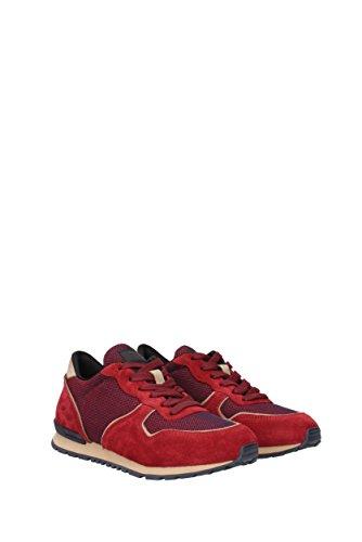 Tod's Sneakers Uomo - Tessuto (XXM0VJ0L8109TT) EU Rosso El Pago De Visa Envío Libre Ofertas DvBxg5