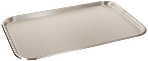 Polar Ware 19F Stainless Steel Serving Tray with Rolled Bead, 19-1/8