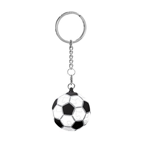 Pintoo - A1366 - Football - 24 Piece Plastic KeyChain Puzzle