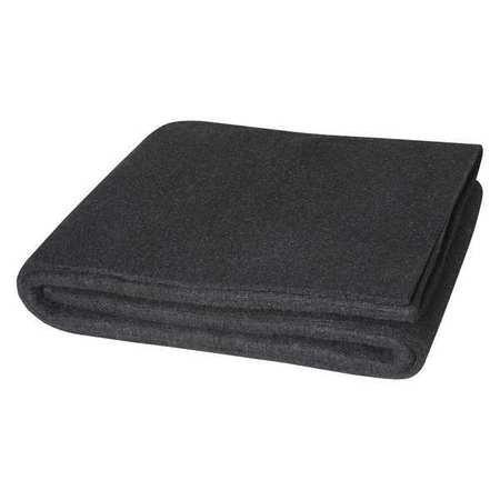 Welding Blanket, 8 ft. W, 6 ft., Black