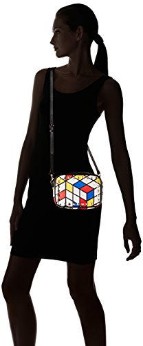 Cross Body Bag Rouge White CAESARS 10 Sally Bleu Blanc L'AETELIER Women��s TqwftxI